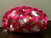 Hello Kitty Travel Cosmetic Makeup Pouch Purse Organizer Hand Bag