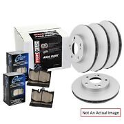 Centric 906.34174 Ceramic / Metallic Front And Rear Disc Brake Pad And Rotor Kit