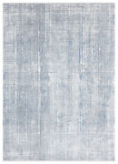 United Weavers Blue Shaded Lines Faded Contemporary Area Rug Striped 4525 10561