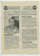 Wwii Aug 1942 Morris Code Army Air Corps Charlotte Nc Air Field Base Newsletter