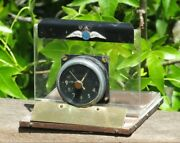 Wwii British Raf Royal Air Force Aircraft 8 Day Clock Spitfire Smiths Mk Iic