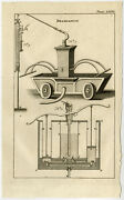 Antique Print-firefighting-mobile Pump-buys-1770