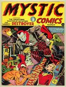 Mystic Comics 8 1942 Series 1 Stan Lee Otto Binder Incomplete Coverless Timely