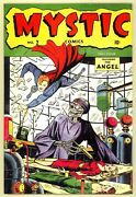 Mystic Comics 2 1944 Series 2 Syd Shores Al Bellman Incomplete Coverless Timely