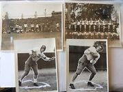 1930's Stanford Large Grouping Original Sport Photos Baseball And Football 67