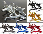 Cnc Adjustable Rearsets Footrests Foot Rest Pegs For Yamaha Yzf R1 R1m R1s Rn32