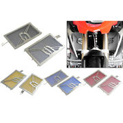 Radiator Grille Mesh Cover Guards Set For Bmw R1200gs Lc Gsa Adv K51 R1250gs K50