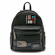 Loungefly Star Wars Collab Darth Vader Mini Backpack Black From Japan F/s