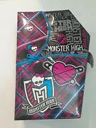 Monster High Doll Clothing Carrying Case With Lot Of 2 Dolls Used