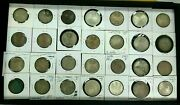 Lot Of 28 5 And 10 Marks German Silver Coins Outstanding Coins Mixed Dates I921