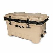 Igloo 00049858 Imx 70 Qt. Heavy Duty Injected Molded Construction Cooler Tan