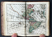 1760 Tobias Lotter Antique Atlas With 33 Maps - World, Continents And Provincial