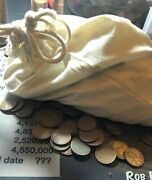 Cull 1000 Count Lot Of Lincoln Wheat Cents Common Dates 1940-1958 All Culls