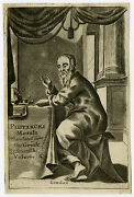 Antique Print-frontispiece-classical History-plutarch-anonymous-ca. 1700