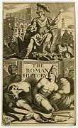 Antique Print-frontispiece-classical History-rome-anonymous-ca. 1700