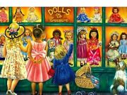 Kids Toy Store Diamond Painting Lovely Dolls Design House Display Diy Embroidery