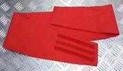 New British Royal Marine Military Mod Surplus Cummerbund - Scarlet - 86 - 96