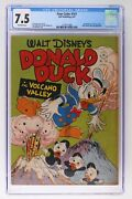 Four Color 142 - Dell 1947 - Cgc 7.5 - Donald Duck In Volcano Valley