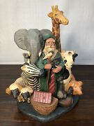 Rarer Jim Shore Very Early Piece Noah's Ark Limited Edition 1995 - 2531/4800