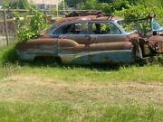 1950 Buick Roadmaster 4-dr Junkyard Car For Parts. You Pick Up Only
