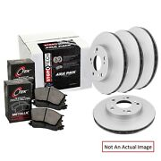 Eeuroparts Oe Replacement Metallic Front And Rear Disc Brake Pad And Rotor Kit