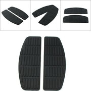 Rubber Rider Insert Footboards For Harley Road King Electra Tour Glide Softail