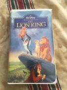 The Lion King Vhs Rare Collectible Item