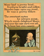 Antique Print-poem-mary-canary-kennedy-costello-1902