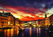 Jigsaw Puzzle 1000 Pieces Landscapes Venetia Illuminated By Downand039s Sunset