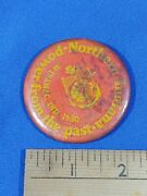 1980 Power From The Past Northern Indiana Winimac Engine Tractor Pinback Button