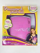 2012 Mattel Electronic Password Journal Invisible Ink Voice Activated Toy New