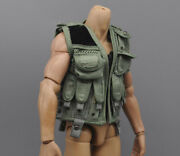 1/6 Scale Us Special Forces Vest Model For 12 Ph Hottoys Male Body