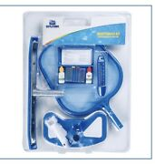 Splash In-ground/above Ground Pool And Spa Cleaning And Maintenance Tool Kit New