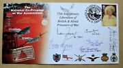Ex-prisoner Of War Assoc. 2000 Cover Signed By Ian Fraser Vc And Vera Lynn + 5