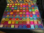 Qing Brazilian Carnival Eye Shadow Palette 99 Pans Rainbow Colors New In Box