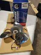 Brp Johnson Evinrude Prop Ssp 3-blade 13-1/2 X 15 Stainless 0763950 - New