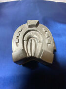 Vintage Antique Pewter Ice Cream/butter/choc Mould Good Luck Horseshoe 183
