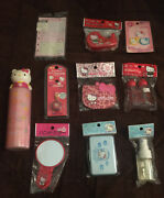 A Lot Of 10 Rare Vintage Sanrio Hello Kitty 90's Early 2000's Collectible Items