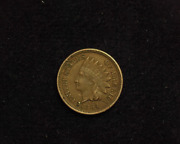 Hsandc 1864 Copper-nickel Indian Head Penny/cent Xf - Us Coin