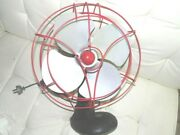 Vintage Antique Restored Smith Mfg Oscillating Table Fan 1 Of A Kind