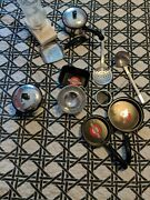 Vintage Lot Child Toy Metal Aluminum Dishes Pots Pans Utensils And Cookware