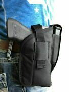 Springfield Xdm 9,xd40,xd45,xd357 With Laser Nylon Holster With Magazine Pouch