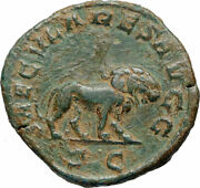 Philip I The Arab 248ad 1000 Years Of Rome Colosseum Lion Roman Coin I84385