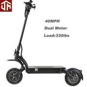 10inch 52v18ah 2000w Powerful Off-road Electric Scooter For Audlt Range 5565mph