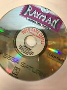 Rayman Sega Saturn, 1995 Demo Preview Disc Only / See Pic