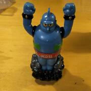 Tetsujin 28 Figure Piggy Bank And Pind Badge Set From Japan Free Shipping