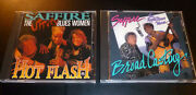2 Saffire The Uppity Blues Women Cd Lot Hot Flash And Broadcasting Excellent
