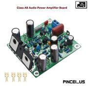 High-speed Mosfet L7 Class Ab Audio Power Amplifier Board Finished 150-350w Pe66