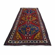3and03910x10and0399 Vintage Farsian Northeast Pure Wool Wide Runner Oriental Rug R44549