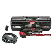 Warn 101140 Powersports Winch Axon 45-s 50ft Spydura Synthetic Rope 4500 Lbs